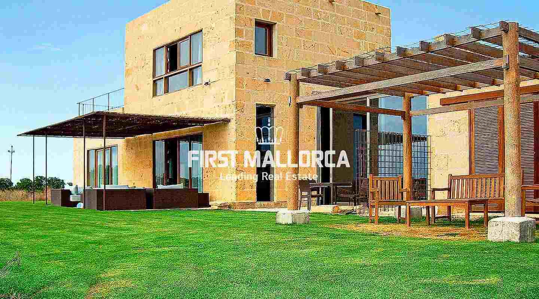 moderne villa zum verkauf nahe campos auf m2 grundst ck. Black Bedroom Furniture Sets. Home Design Ideas