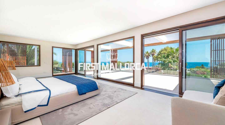 Moderne, hochwertige Villa mit tollem Meerblick in Sol de Mallorca